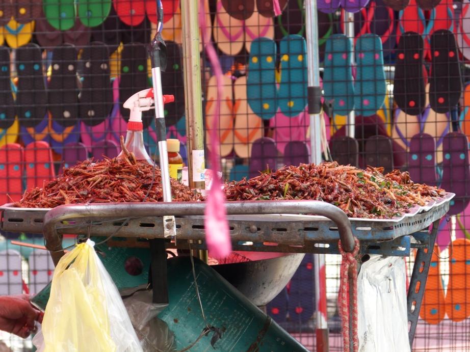 Spices marché Bangkok Thaïlande