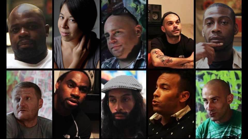 Hip Hop Rap Dance DJ Street Culture Projection documentaire