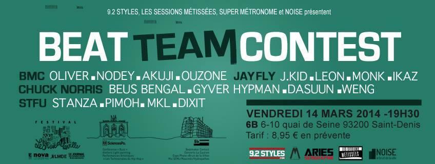 Beat Team Contest 6B