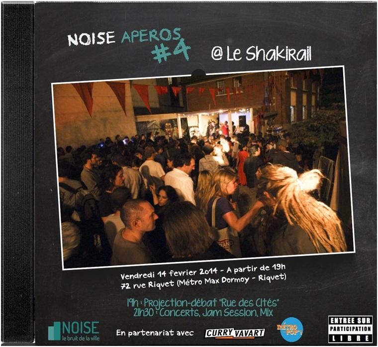 Noise Apéro Le Shakirail