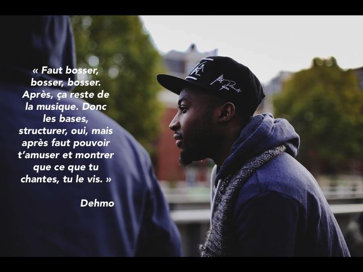 Dehmo membre de la MZ Rap Paris 13