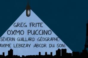 Conférence-débat «Le Rap éclaire-t-il (toujours aussi bien) Paname?» feat. Oxmo Puccino et Greg Frite