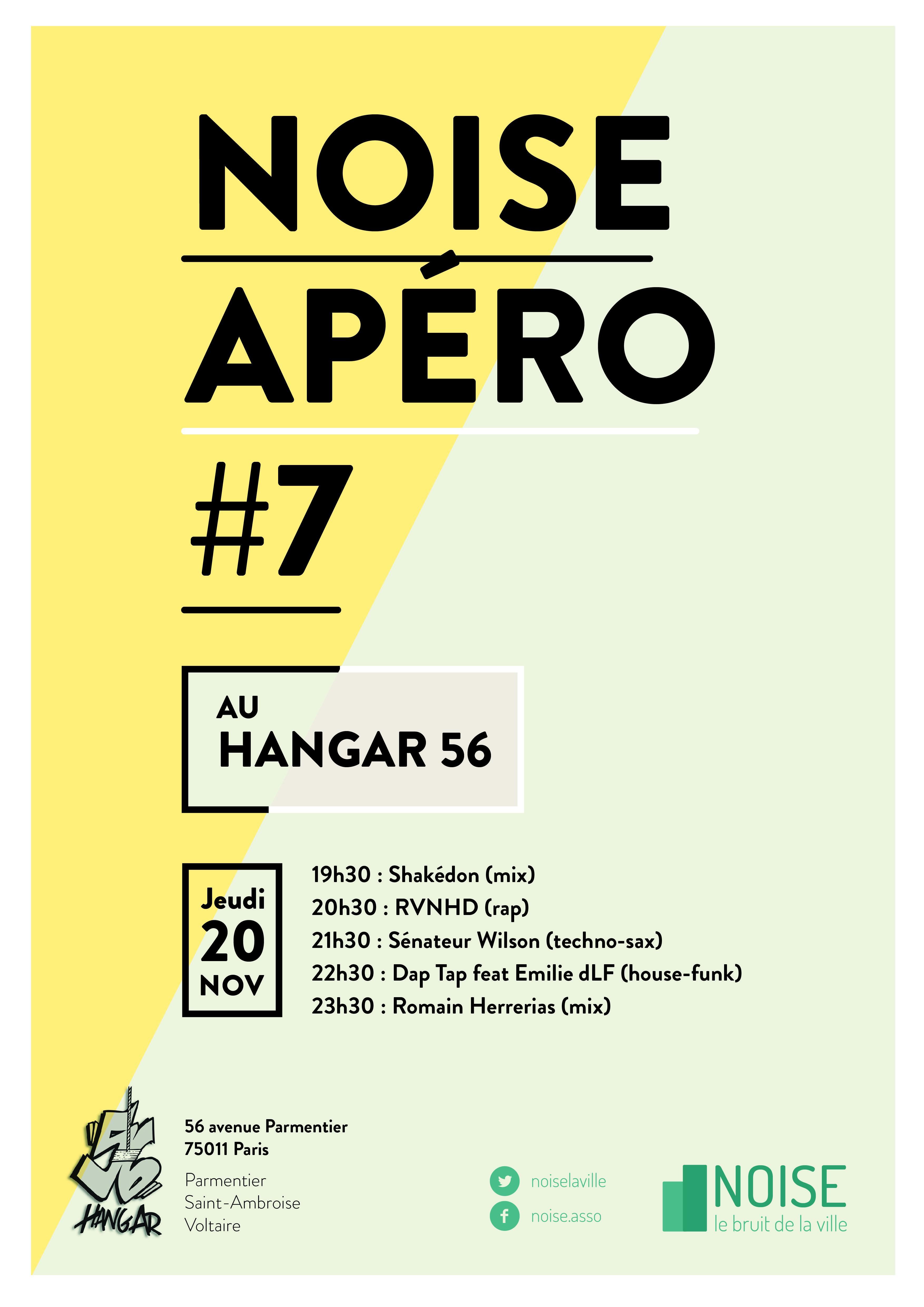 Apéro Noise 7 Hangar 56