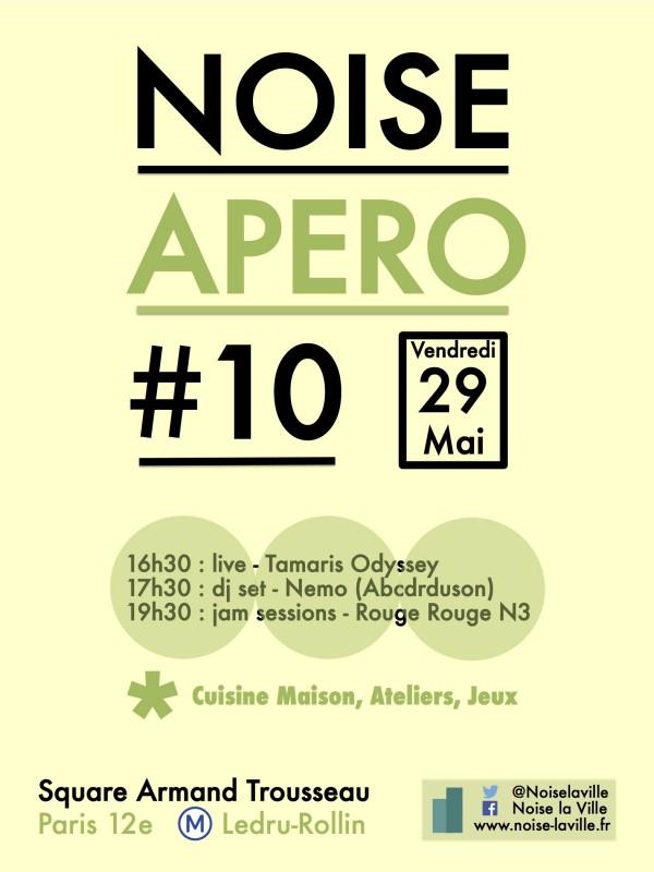 Affiche Noise Apéro #10