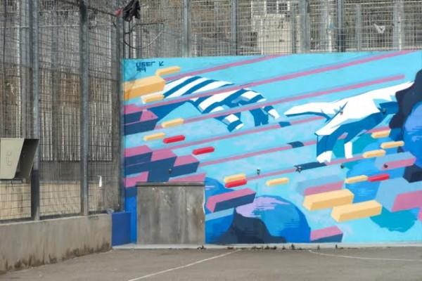 Jail mural 2.0, David Mesguich ©