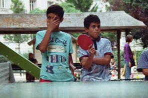 Loin de Rio, le ping-pong convivial du 18e