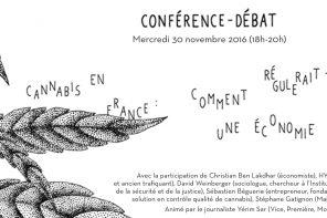 Conférence – Cannabis en France
