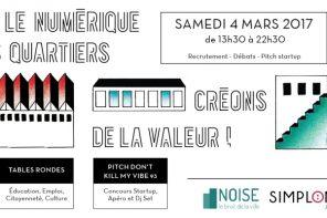 """Pourquoi un forum """"numérique et quartiers"""" à Montreuil ?"""