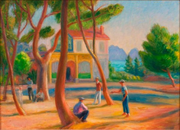 La Ciotat peinte par William Glackens