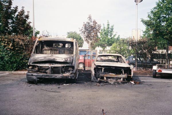 voitures brulées aubervilliers