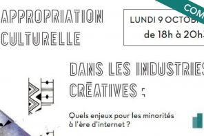 Conférence-débat – « L'appropriation culturelle dans les industries créatives »