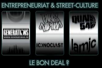Entrepreneuriat et Street Culture - Le bon deal ? conférence Sciences Po