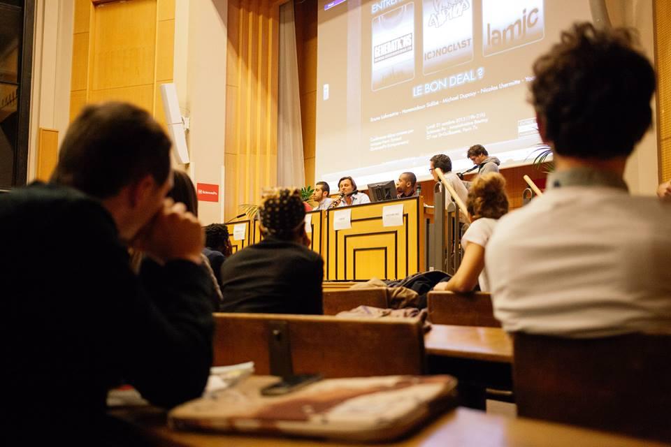 Conférence entrepreneuriat street culture Sciences Po Paris