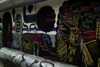 1984 collectif artistes Street art graffiti manufacture 111