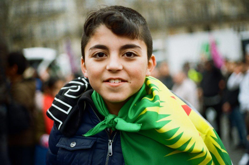 enfant kurde