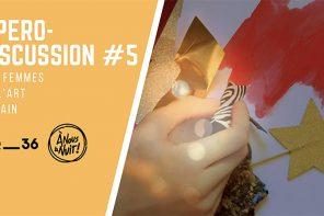 Jeudi 3 mai  | Apéro-discussion #5 – Les femmes et l'art urbain