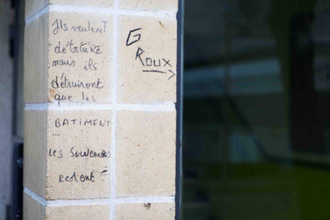 Groux Inscriptions