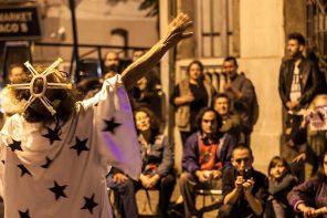 Ailanto Santiago du Chili squat maison d'artistes spectacle de rue