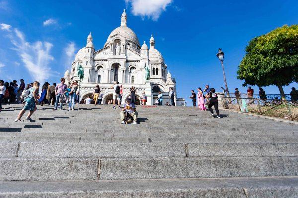 Spots de lecture Paris Sacré-Coeur