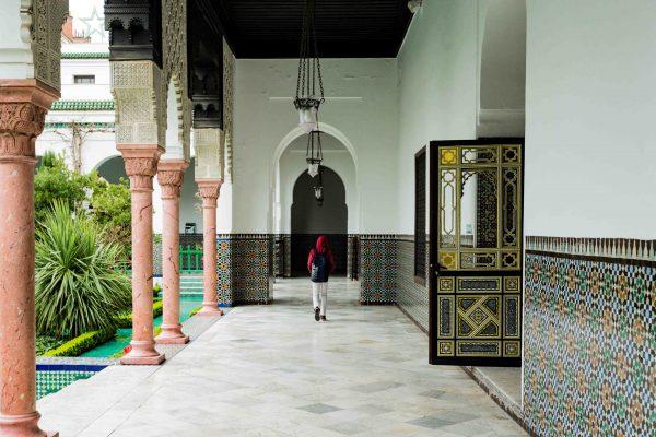 Spots de lecture Paris la Grande Mosquée