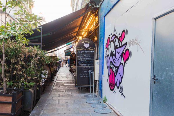 Spots de lecture Paris Caffè da Rosa