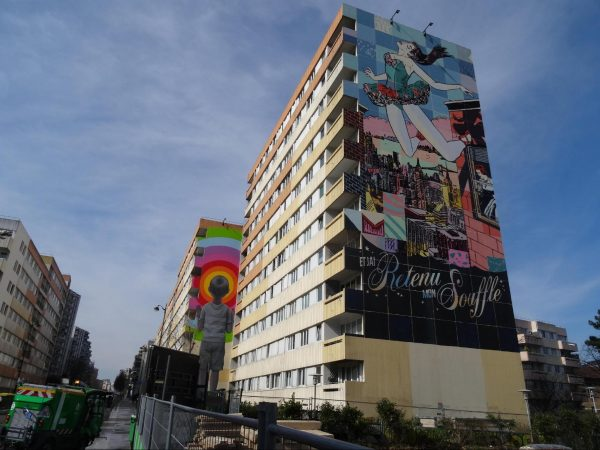 Street art Graffiti Paris 13 Collectif V13