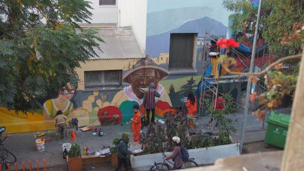 Ailanto Santiago du Chili squat maison d'artistes