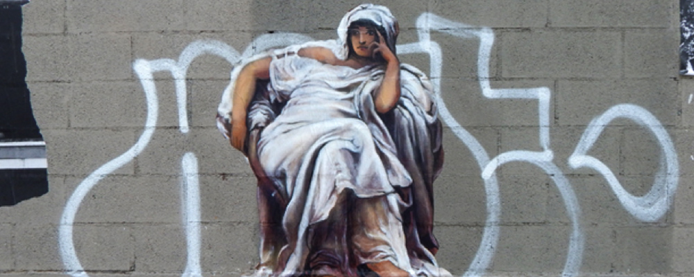 Nadège Dauvergne Artiste Beaux-arts street art Paris