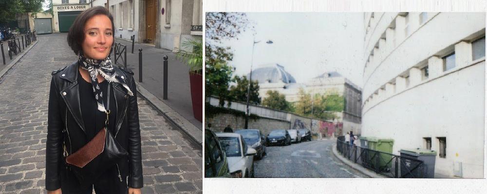 Ville en Polaroid Paris
