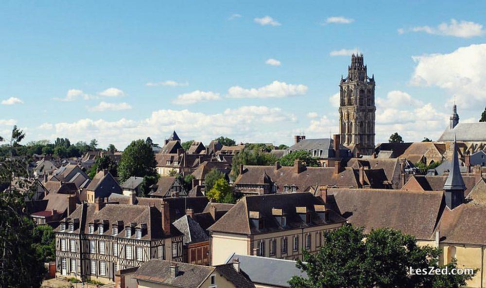 Vue de Verneuil-sur-Avre