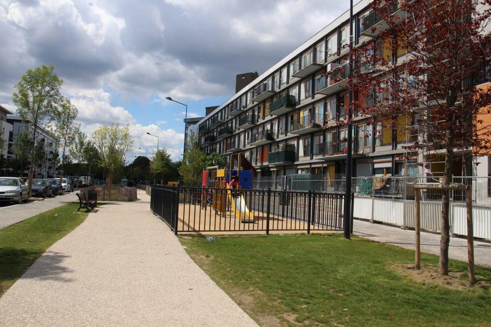 Exemple de rénovation urbaine des Bosquets (image Ville)