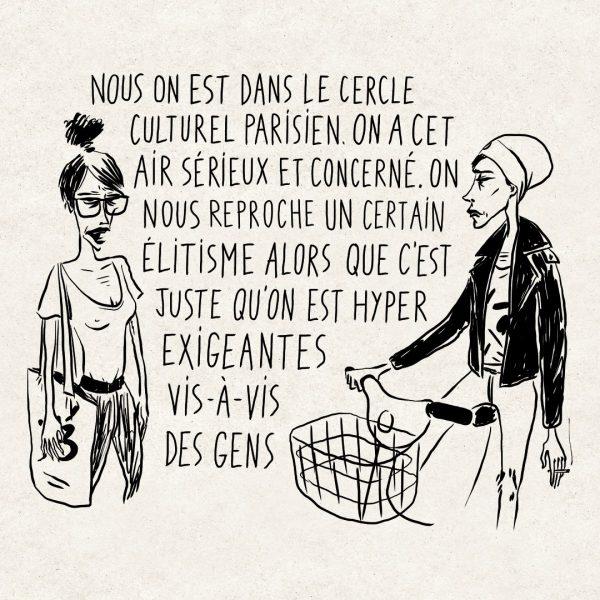 Les connasses parisiennes de la culture - Livio